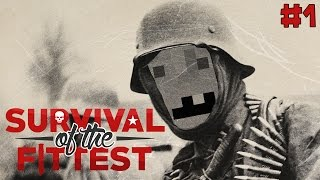 "Minecraft Survival of the Fittest Ep 01 - ""I Love The Smell of Napalm In The Morning!!!"""