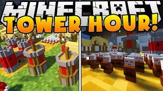THE BEST TOWER DEFENSE GAME ON MINECRAFT REALMS IS BACK - TOWER HOUR