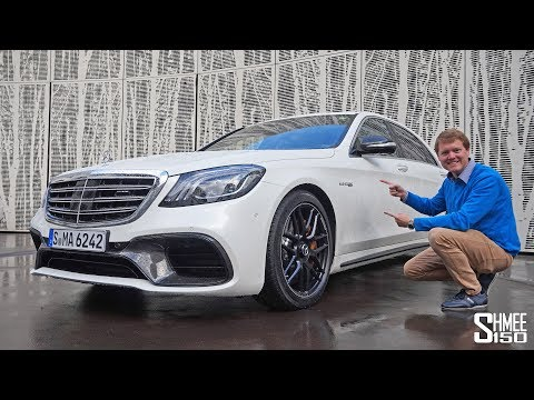The Mercedes-AMG S63 is a TECHNOLOGY POWERHOUSE!