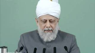 Indonesian Friday Sermon 1 July 2011, Sense of Gratitude for Jalsa Salana