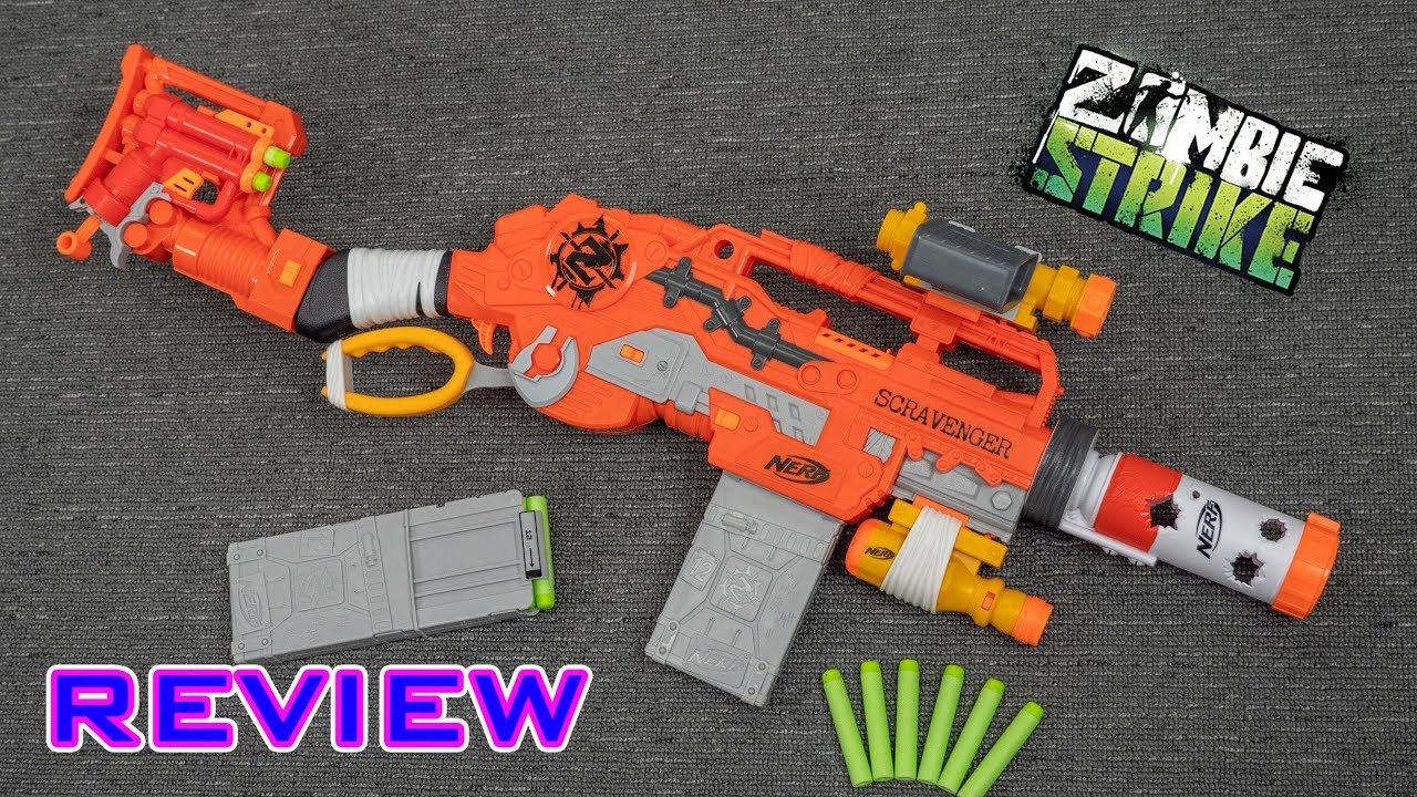 9d018e96b9  REVIEW  Nerf Zombie Strike Scravenger