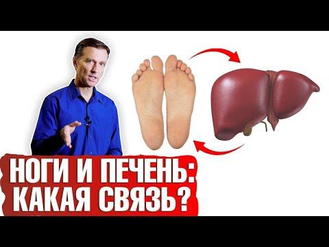 Могут ли ноги рассказать о заболеваниях печени?