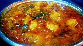 पूरी के साथ खाने वाली हलवाई स्टाइल आलू की सब्जी - Shaadi Wali Aloo Ki Sabzi
