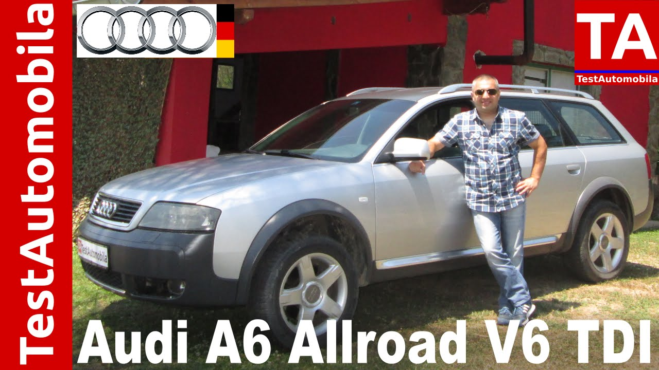 audi a6 c5 allroad quattro 2 5 v6 24v tdi test youtube. Black Bedroom Furniture Sets. Home Design Ideas