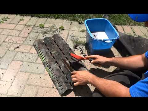 How To Clean A Barbeque Burner Cover With Soap And Water