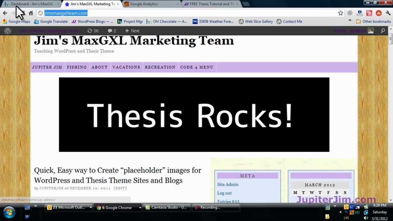 thesis theme tutorial Wordpress and thesis theme tutorials, guides, tips, and general how-to resources for php and css functions and formatting.