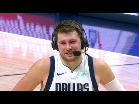 Luka Doncic Postgame Interview   Mavericks vs Nuggets   January 7, 2021