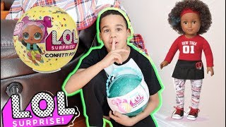 LOL Pearl Surprise Hide And Seek | FamousTubeKIDS