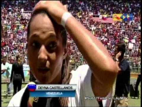 """Deyna Castellanos: """"Esto es para todos los venezolanos"""""""