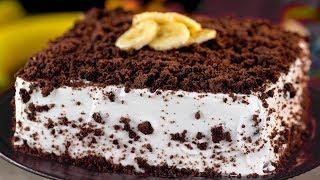 Бисквитный торт с бананами -  безумно вкусный, ароматный и неповторимый!   Appetitno.TV