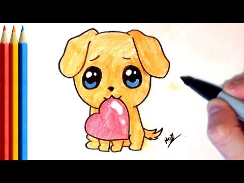 how to make a puppy drawing