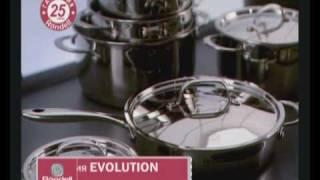 Немецкая посуда Rondell из многослойной нержавейки стали