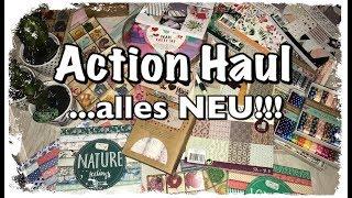 XL Action Haul (deutsch), alles NEU, Scrapbook basteln mit Papier, DIY