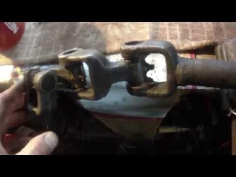 Замена крестовины рулевого кардана ГАЗель