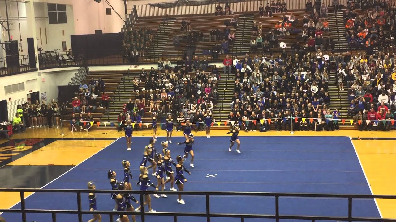 Lincoln Way East Cheer Cougar Classic 2015 Youtube