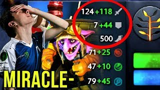 Miracle- Timbersaw Armor Like A RAID BOSS Can't Touch Me - Dota 2