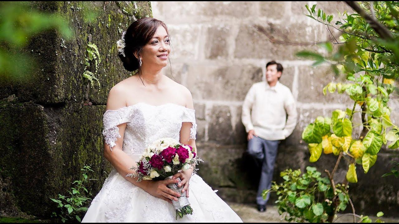 { Ajie + Eva } A Wedding at Saint Anne Parish Church and Villa Salud | Photo and SDE Video Package