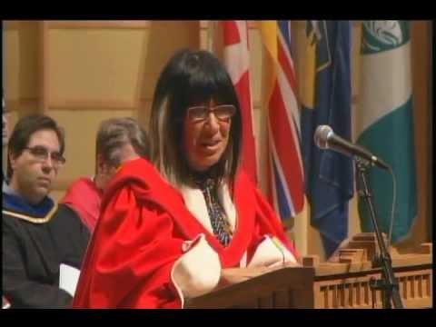 Dr. Buffy Sainte-Marie - UBC Vancouver 2012 Spring Honorary Degree Recipient