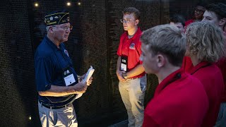 American Legion Boys Nation delegates visit National Mall