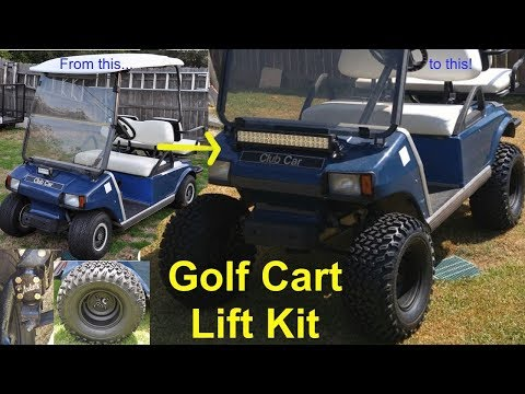 Golf Cart Lift Kit Install