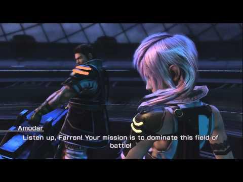Final Fantasy XIII-2 - Lightning & Amodar DLC Battle (Coliseum Challenge: Operation XIII-2) |