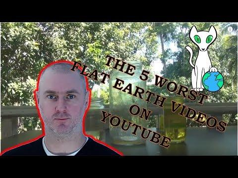The 5 worst Flat Earth videos on youtube thumbnail