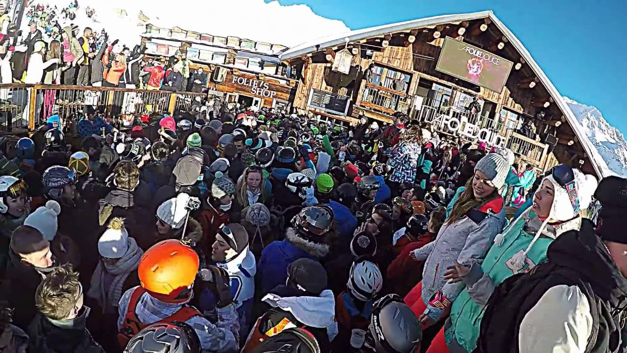 La Folie Douce Val Thorens 2 02 2015 Youtube
