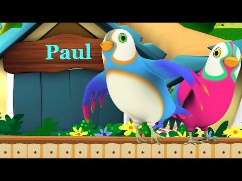 Two Little Dicky Birds | Songs for Children | Kindergarten Nursery Rhymes