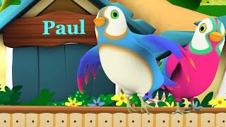 Two Little Dicky Birds | Songs for Children | Kindergarten Nursery Rhymes