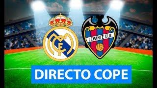 (SOLO AUDIO) Directo del Real Madrid 3-2 Levante en Tiempo de Juego COPE