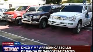 DNCD y MP apresan cabecilla de supuesta banda de narcotraficantes