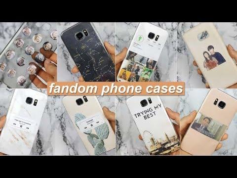 DIY Fandom Phone Cases