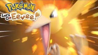 TRUDNY DO ZŁAPANIA MOLTRES! - Pokemon Let's Go Eevee #27 [PO POLSKU]