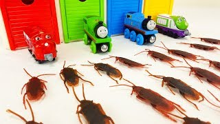 Tayo the Little Bus & Tayo Garage Toy  Thomas & Friends Cockroach Monster Story