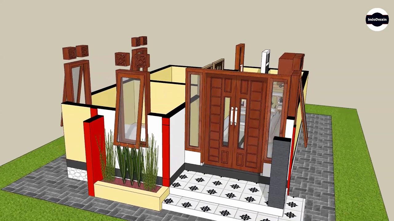 Desain Rumah Minimalis 5x7 Meter 2 Kamar Tidur Youtube
