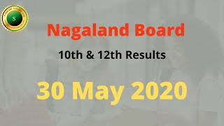 NBSE 10th And 12th Result 2020 |Nagaland board hslc and hsslc result 2020|