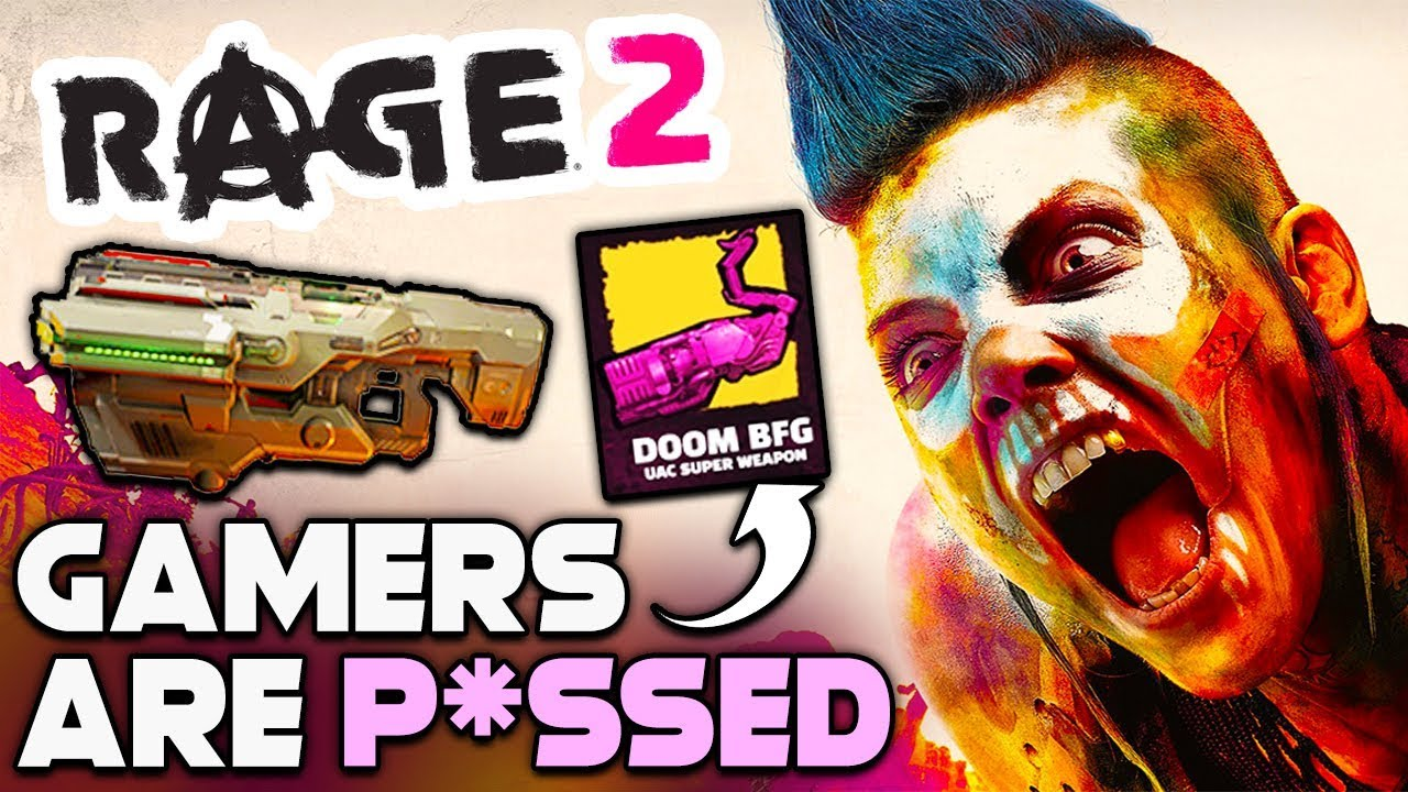 GAMERS ARE NOW PISSED AT BETHESDA AND RAGE 2 - BUT SHOULD YOU BE? thumbnail