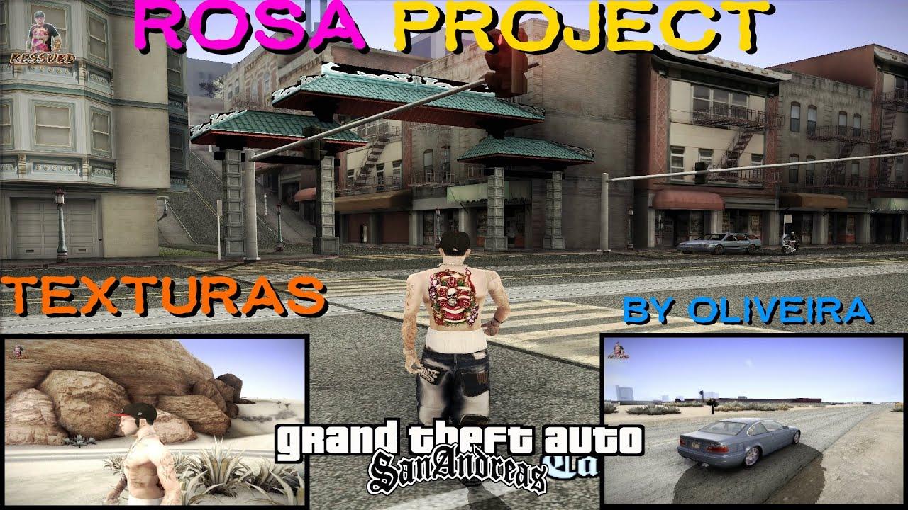 Gta Pack De Texturas Rosa Project Versao By Oliveira Ressubd Para Gta San Andreas Full Hd P