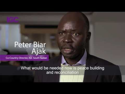 Barriers to growth: Peter Biar Ajak