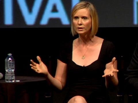 Cynthia Nixon: Gays Don't Want to Redefine Marriage - YouTube