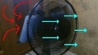 Simple BRICOLAGE AC Refroidisseur d'Espace! - Bureau de Ventilateur w/packs de glace! - ez DIY - fan de conversion