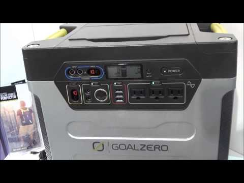 Tech for preppers: Goal Zero solar chargers and solar electric generators