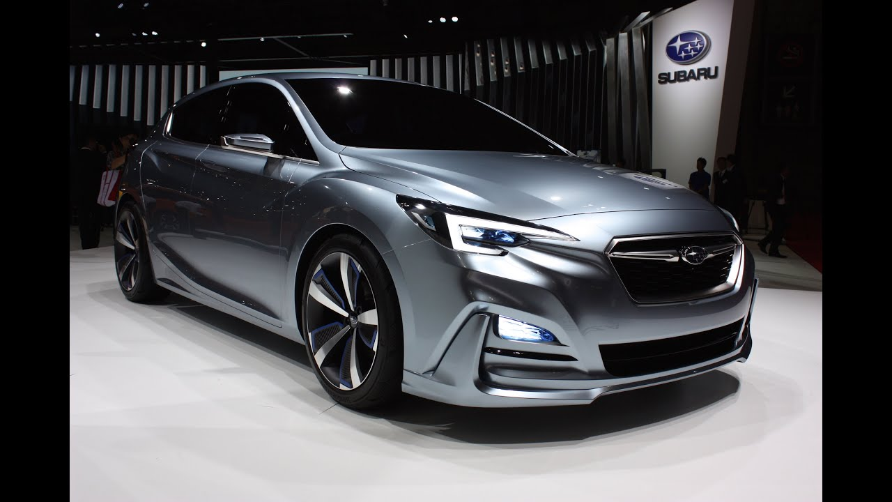 2017 subaru impreza 5 door concept 2015 tokyo motor show youtube. Black Bedroom Furniture Sets. Home Design Ideas