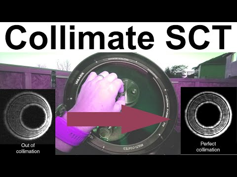 How To Collimate A SCT Telescope??? Do It The SAFE And EASY Way!