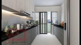 Hdb kitchen cabinet design singapore