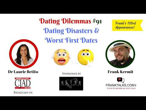 Worst First Date Stories Ever - radio interview Disaster Dat