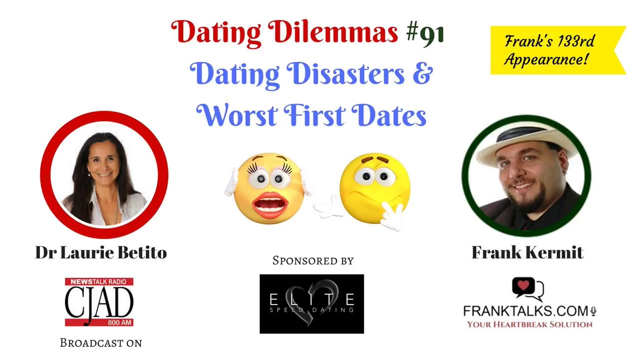 Speed dating disasters