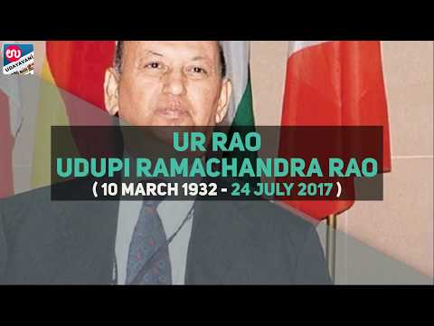 U. R. Rao | Former ISRO Chief And Renowned Space Scientist, Dead at 85