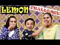 LEMON CHALLENGE | No expressions challenge | Moral Story for kids | Aayu and Pihu Show