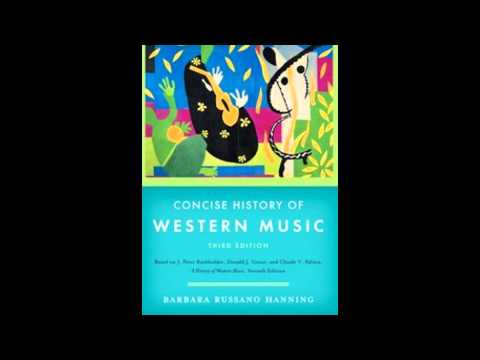CONCISE HISTORY OF WESTERN MUSIC BY HANNING